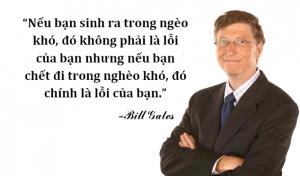 Câu danh ngôn hay của Bill Gates