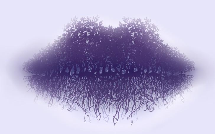 Trắc nghiệm: Bạn nhìn thấy bờ môi hay rễ cây trước tiên, đáp án sẽ tiết lộ thái độ sống của bạn