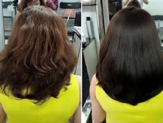 Cách gội đầu 'ngược đời' giúp tóc mượt mà khó tin