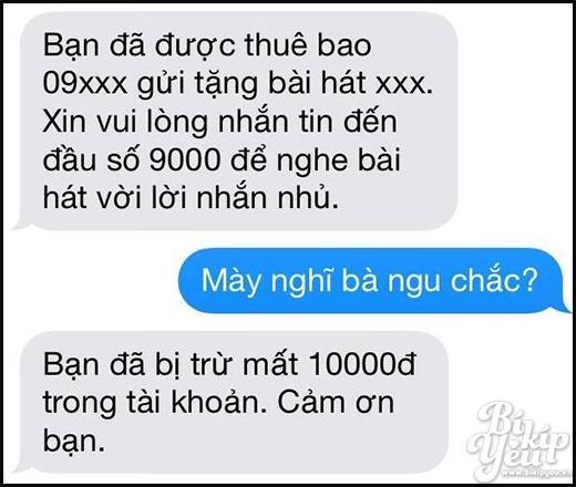 Cười vỡ bụng với cách trả lời những tin nhắn nhầm số