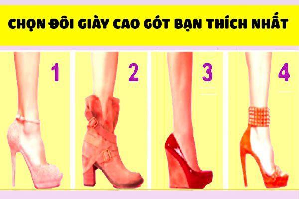 Đoán tính cách của bạn qua đôi giày cao gót yêu thích