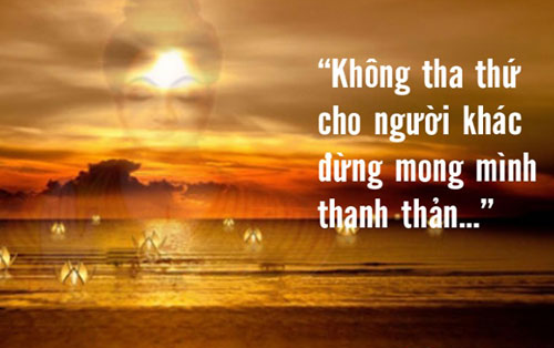Lời Phật dạy về sự tha thứ