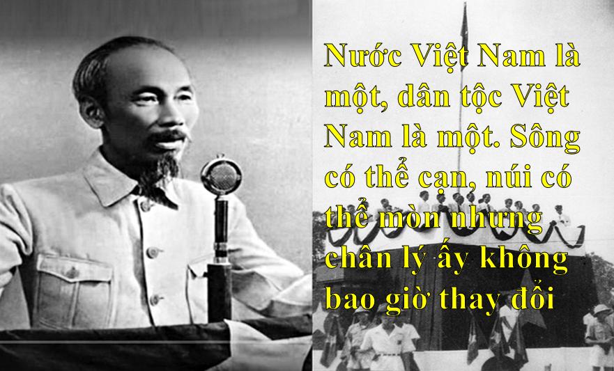 Những câu nói bất hủ của Chủ tịch Hồ Chí Minh