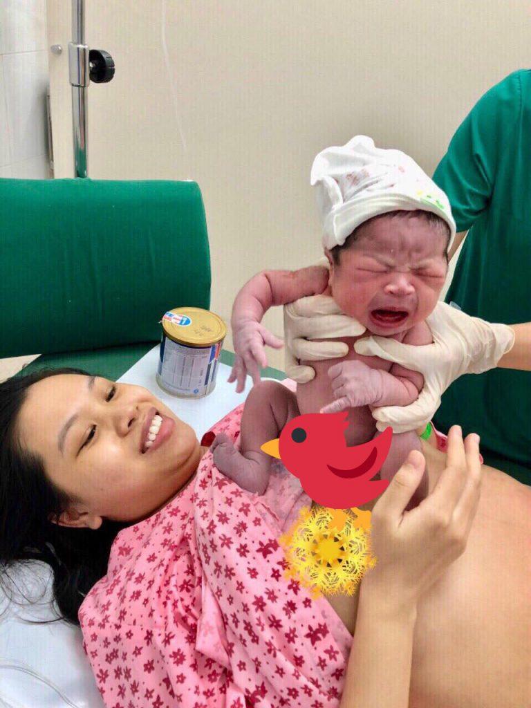 Mẹ 9x chia sẻ bí quyết giúp sinh thường một cách dễ dàng, mẹ khỏe con khỏe, sinh xong là được về nhà ngay