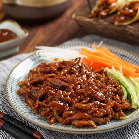 Thịt heo sốt Bắc Kinh