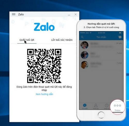 Đăng nhập Zalo trên máy tính với số điện thoại và yêu cầu trên điện thoại