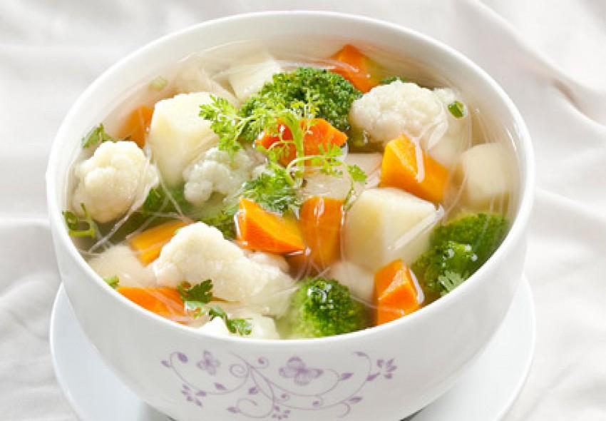 Canh súp rau củ