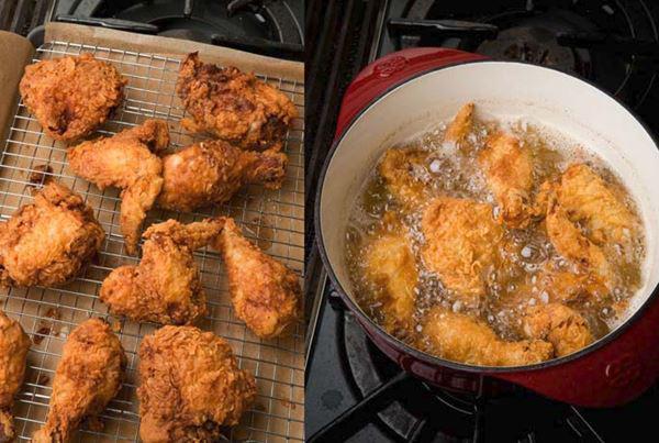 Gà rán KFC ngon giòn hấp dẫn với bước làm đơn giản tại nhà