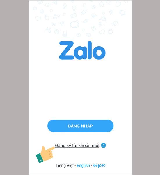 Đăng nhập Zalo trên máy tính với số điện thoại và mật khẩu