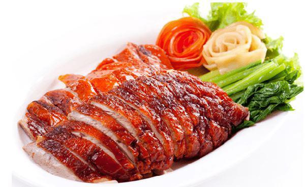 Vịt quay ngon da giòn, thịt ngọt, thơm chuẩn ngoài hàng