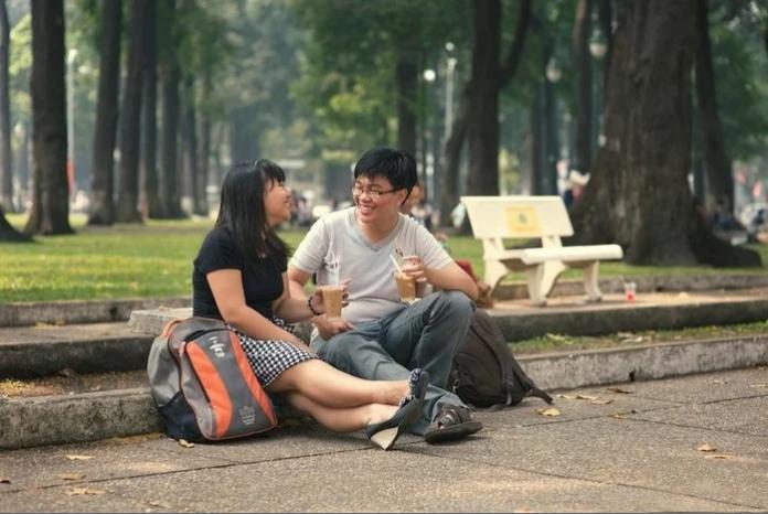 Hẹn hò tại công viên
