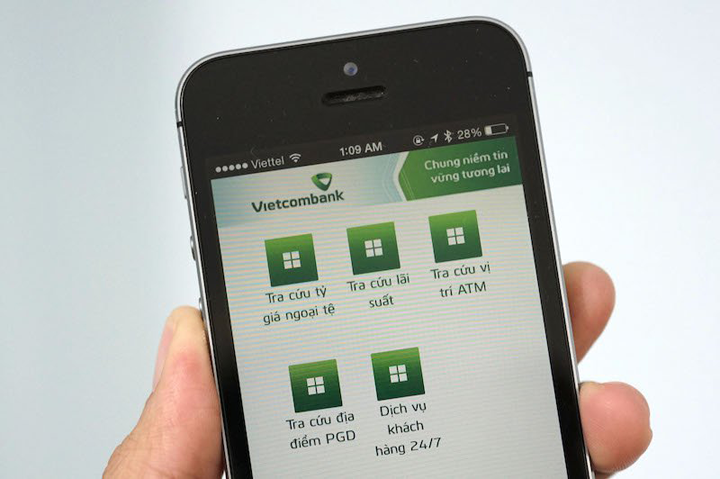 Chuyển tiền Vietcombank thứ 7 qua Internet Banking