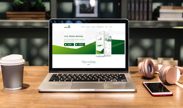 Truy cập website tra cứu chi nhánh ngân hàng Vietcombank